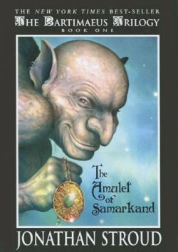 The Amulet of Samarkand cover