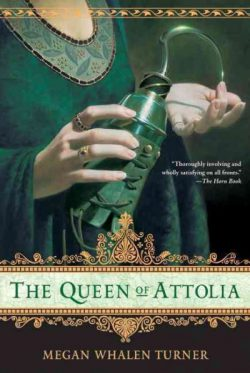 The Queen of Attolia by Megan Whalen Turner (paperback cover)