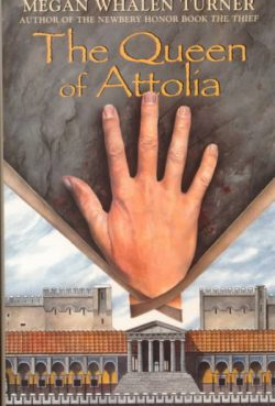 The Queen of Attolia by Megan Whalen Turner (original cover)