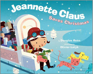 Jeannette Clause Saves Christmas cover