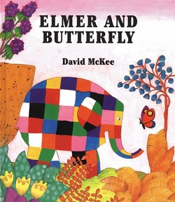 Elmer and Buttefly by David McKee
