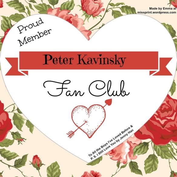 Peter Kavinsky Fan Club