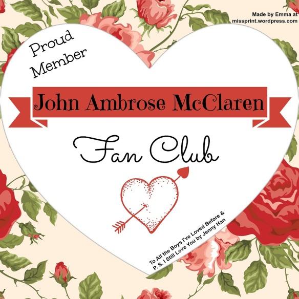John Ambrose McClaren Fan Club
