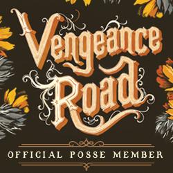Vengeance Road Posse Button