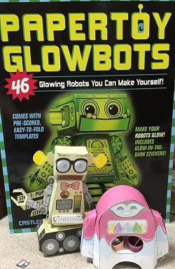 Papertoy Glowbots (with bots!)