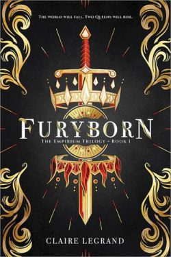 cover art for Furyborn by Claire Legrand