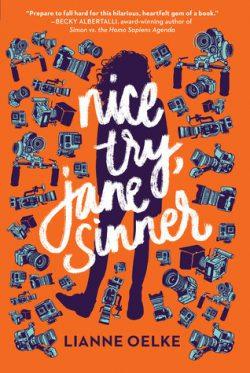 cover art for Nice Try, Jane Sinner by Lianne Oelke