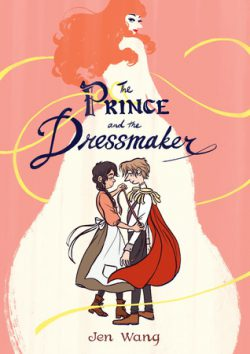 cover art for The Prince and the Dressmaker by Jen Wang