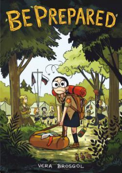 cover art for Be Prepared by Vera Brosgol