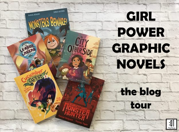 Girl Power Graphic Novels Blog Tour Header