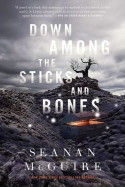 cover art for Down Among the Sticks and Bones by Seanan McGuire