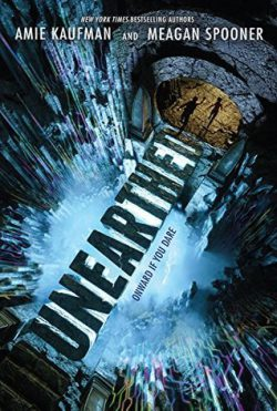 cover art for Enearthed by Amie Kaufman and Meagan Spooner