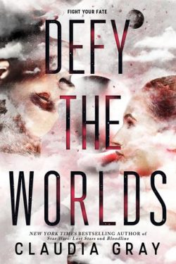 cover art for Defy the Worlds by Claudia Gray