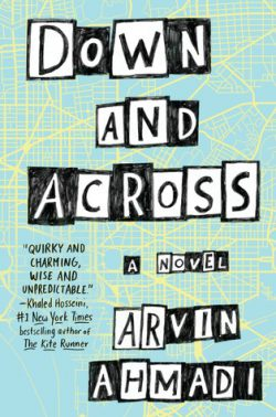 cover art for Down and Across by Arvin Ahmadi