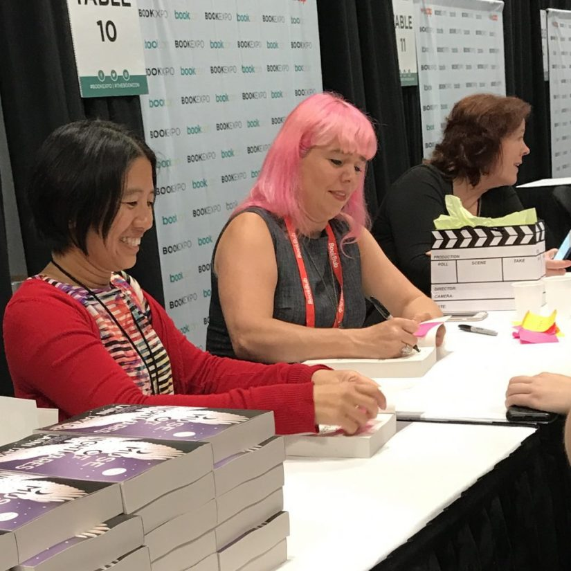 Laini Taylor signing Muse of Nightmares