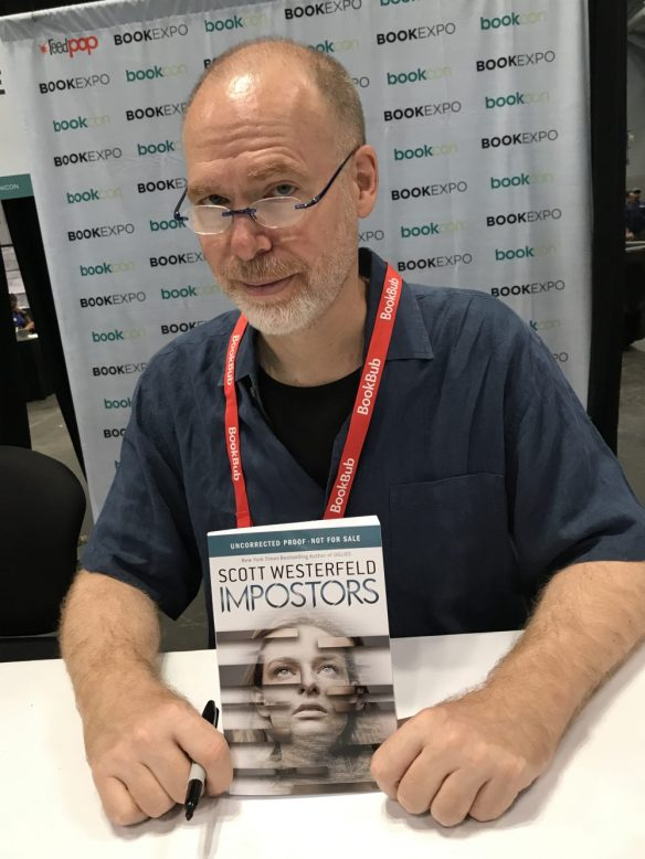 Scott Westerfeld with Impostors