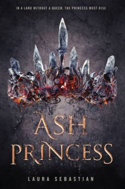 cover art for Ash Princess by Laura Sebastian