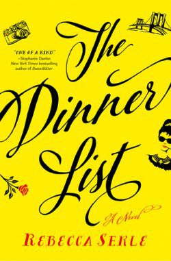 cover art for The Dinner List by Rebecca Serle