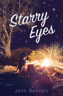 cover art for Starry Eyes by Jenn Bennett