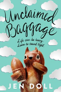cover art for Unclaimed Baggage by Jen Doll
