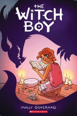cover art for The Witch Boy by Molly Knox Ostertag