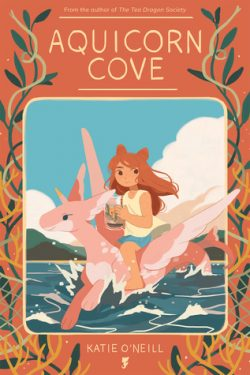 cover art for Aquicorn Cove by Katie O'Neill
