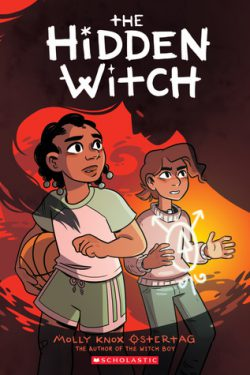 cover art for The Hidden Witch by Molly Knox Ostertag