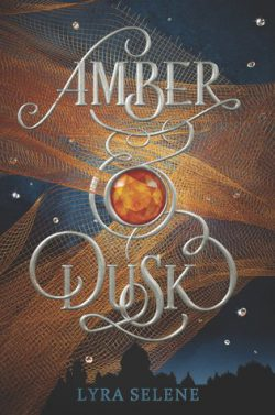 cover art for Amber & Dusk by Lyra Selene