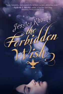 cover art for The Forbidden Wish by Jessica Khoury