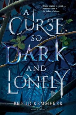 cover art for A Curse So Dark and Lonely by Brigid Kemmerer