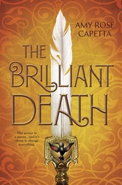 cover art for The Brilliant Death by Amy Rose Capetta