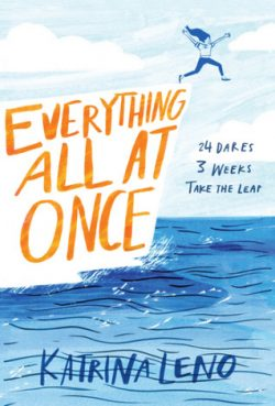 cover art for Everything All at Once by Katrina Leno