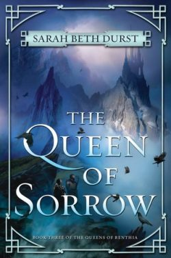 cover art for The Queen of Sorrow by Sarah Beth Durst