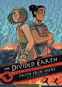 cover art for The Divided Earth by Faith Erin Hicks