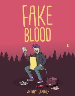 cover art for Fake Blood by Whitney Gardner
