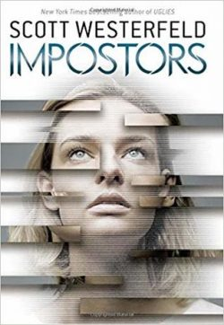 cover art for Impostors by Scott Westerfeld