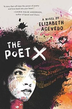cover art for The Poet X by Elizabeth Acevedo