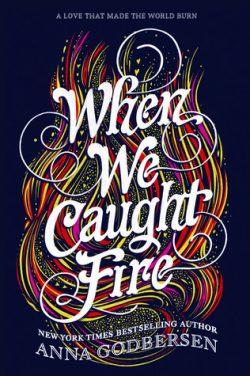 cover art for When We Caught Fire by Anna Godbersen