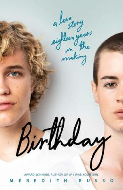 cover art for Birthday by Meredith Russo