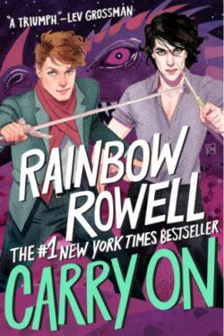 cover art for Carry On by Rainbow Rowell
