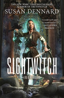 cover art for Sightwitch by Susan Dennard