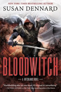 cover art for Bloodwitch by Susan Dennard