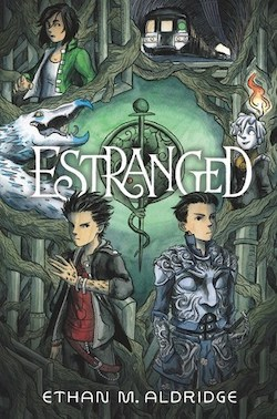 cover art for Estranged by Ethan M. Aldridge