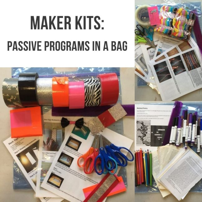 Maker Kits Collage Graphic