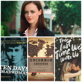 Rory Gilmore currently reading photo collage