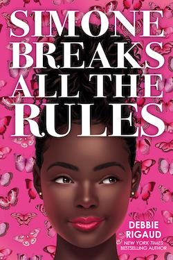cover for Simone Breaks All the Rules by Debbie Rigaud